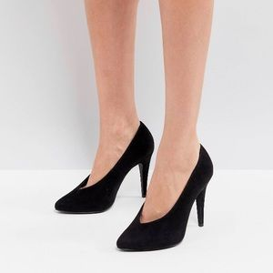ASOS New Look High Vamp Court Shoes
